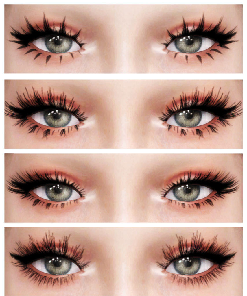Dreamgirl 3D eyelashes version 1
