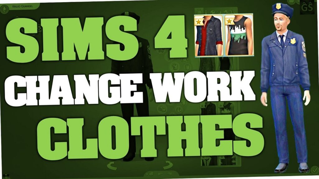 Sims 4 Change Career Outfit, Clothes, Work Outfit (Latest)