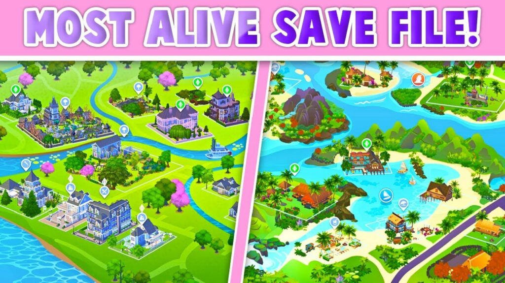 Sims 4 Save Files, Custom Saves | Remade World, Ts4(Updated)