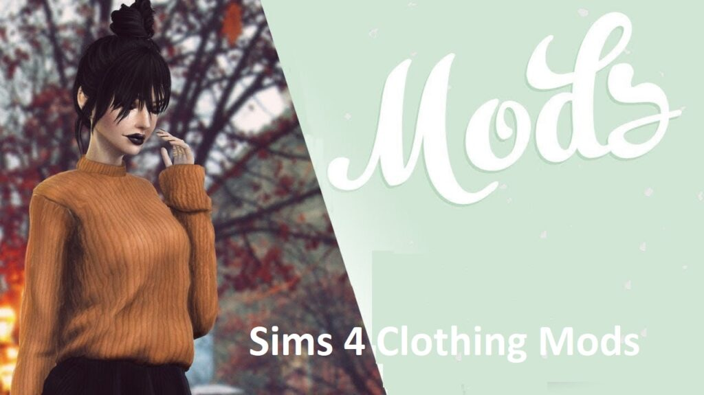 Sims 4 Clothing Mods    CC Clothes Packs (Download)